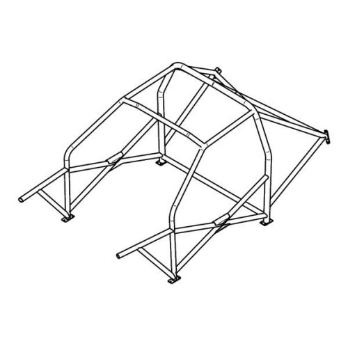 SA multi-point weld-in roll cage for BMW Serie 3 E36 1990-2001 on